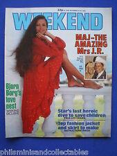 Weekend Magazine - Larry Hagman & Maj, Bjorn Borg, Christine Fox   24th Nov 1982