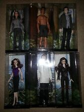 10 twilight dolls:bella,edward,jacob,carlise,esme,,jane,alice,victoria,rosalie