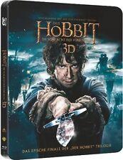 DER HOBBIT: DIE SCHLACHT DER FÜNF HEERE (Blu-ray 3D + Blu-ray Disc) Steelbook