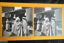 STA525 Paris Exposition Universelle 1900 Concert Arabe stereoview Photo 1900