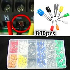 800X Tube pre-insulating terminal cable wire Connector Terminal AWG 23-10 Kit