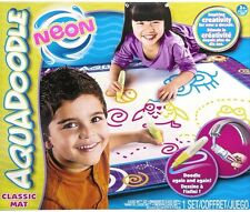 NEW AQUADOODLE CLASSIC DRAWING MAT WITH NEON REVEAL IN 4 COLORS