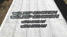 1979 Ford Econoline Club Wagon Chateau Factory Emblems Set of 4 fits 76 77 78 79