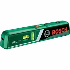 Bosch Laser spirit level PLL 1 P with wall mount bracket and Batteries