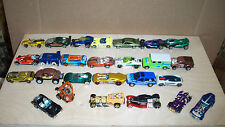 25 ASST HOT WHEELS & MATCHBOX CARS & TRUCKS IN VERY GOOD USED CONDITION LOT I