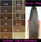 Clip In Extension 100% Echthaar 45cm, 50cm , 55cm, 60cm 65cm, 70cm HAIRS