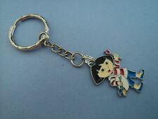 """GIRLS CHARACTER """"PAINTING  DORA """" KEY RING,FREE POST IN OZ!!"""