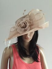 NIGEL RAYMENT NUDE WEDDING Hat FORMAL Occasion MOTHER OF THE BRIDE