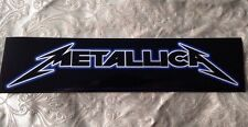 "9.25""X 2.25"" Metallica Sticker Rock Band Bumper Decal"