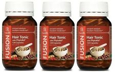 3x FUSION HEALTH HAIR TONIC 120C - WANT HEALTHY HAIR? + FREE SHIPPING