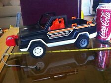 Playmobil Black Speedstar Winch Car Truck Original