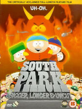 South Park Bigger Longer & Uncut 1999 Comedy Animated Movie DVD Region 2 New