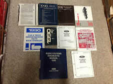 1990 Ford Lincoln MARK VII 7 Service Shop Repair Workshop Manual OEM Factory SET