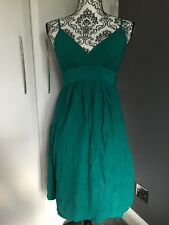 Women's Green Topshop Dress - Size 10