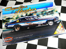 POLAR LIGHTS 1/25 SCALE CANDIES & HUGHES BARRACUDA FUNNY CAR PLASTIC MODEL KIT