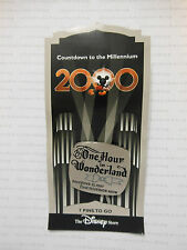 Disney Store ONE HOUR IN WONDERLAND First TV Show Countdown To Millennium #8 Pin