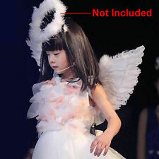 Angel Fairy Wings Fancy Dress Costume Feather Outfit REDUCED Adult Kids White
