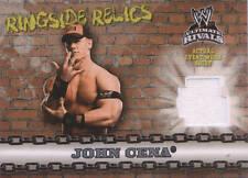 JOHN CENA Topps Ultimate Rivals Ringside Relics WWE EVENT WORN WHITE T-SHIRT