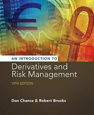 Introduction to Derivatives and Risk Management (US HARDCOVER; shrink wrapped)