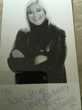 6x4 Hand Signed Photo of Vanessa Feltz Radio 2 & TV Presenter CBB 2017