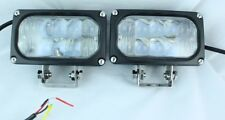 "3"" x 5"" CREE LED FOG TRACTOR UTILITY BOB CAT FLOOD SPOT LIGHT EQUIPMENT D6 CAT"