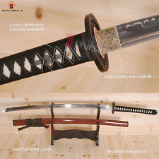 Top Quality Japanese Katana Sword T10 Steel Clay Tempered Battle Ready Sharp