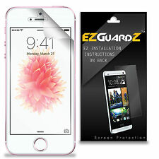 2X EZguardz LCD Screen Protector Cover HD 2X For Apple iPhone SE (Ultra Clear)