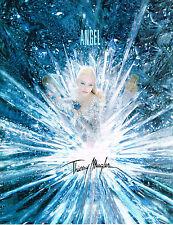 PUBLICITE ADVERTISING  1995   THIERRY  MUGLER  parfum ANGEL