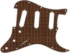 Stratocaster Pickguard Custom Fender SSS 11 Hole Guitar Pick Guard Grill Cloth 1