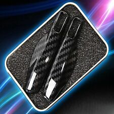 Carbon Remote Smart Key Shell Holder Cover: Porsche Cayenne Panamera Macan 911
