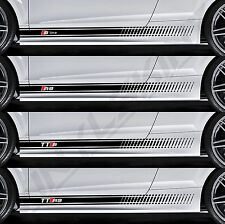AUDI S-line RS TTS TTRS Superior Cast Side Stripes Decals Stickers Quattro A3 A4