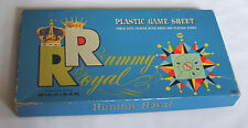 Vintage Whitman Michigan Royal Rummy Card Table Game Sheet in Box 1937 #4713:100