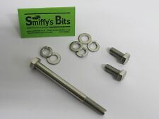 CLASSIC AUSTIN ROVER MINI  STAINLESS FITTING KIT N/S RADIATOR BRACKET AND MOUNT