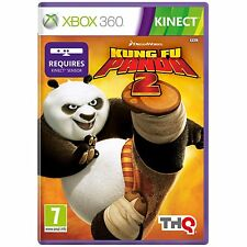 Kung Fu Panda 2 Xbox 360 Game Disney Kinect PAL Euro Cover English Kids Fun 7+