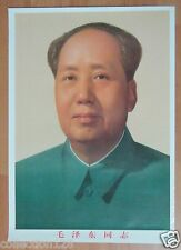 China Poster Mao Zedong 47x33.5cm