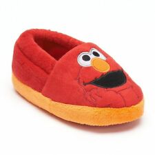 NWT ☀ELMO☀ Slippers New  SESAME STREET  Boys Shoes  TODDLER  7/8