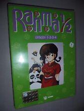 DVD N° 1 RANMA 1/2 EPISODI 1 2 3 4