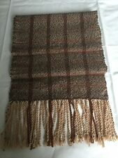 Hand woven scarf, lambswool, birthday, Christmas gift