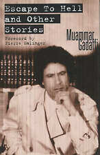 GADAFFI, MUAMMA-ESCAPE TO HELL & OTHER STORIES  BOOK NEW
