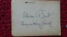 CONDUCTORS ADRIAN BOULT / CLARENCE RAYBOULD AUTOGRAPHS