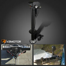 3-Bolt A-Frame Trailer Rv Camper 3500Lbs Electric Tongue Jack LED Side Light