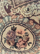 Gorgeous, Gently USED tapestry pillow, vintage inspired design