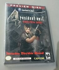 Resident Evil 4 Preview Disc not for resale NEW SEALED