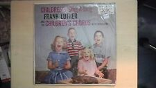Vocalion Hi Fi Records CHILDREN'S SING-A-LONG Frank Luther LP 50s