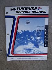 1979 Evinrude Outboard Motor 2 HP Model 2902 Service Manual LOTS MORE IN STORE V