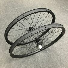 29er Carbon wheelset 35mm width mountain bicycle tubeless wheels with Powerway