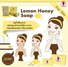 LEMON GLUTA PURE SOAP Wink White Glutathione Anti-Aging Whitening