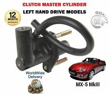 FOR MAZDA MX5 MX-5 1.8 2.0 2005-> NEW LEFT HAND DRIVE CLUTCH MASTER CYLINDER
