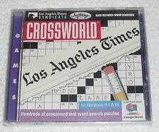 NEW Crossworld Los Angeles Times Cross Word PC Video Game (1996)