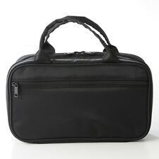 Japan MUJI Japanese Cosmetic Case Large Black(12x21x8cm)